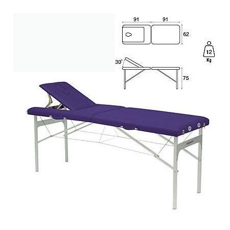 Camilla plegable aluminio masaje y terapia Ecopostural C3415M41