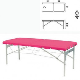 Camilla plegable aluminio masaje y terapia Ecopostural C3411M61