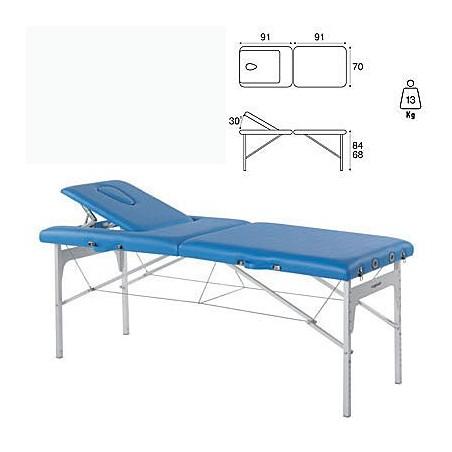 Camilla plegable aluminio masaje y terapia Ecopostural C3409M61