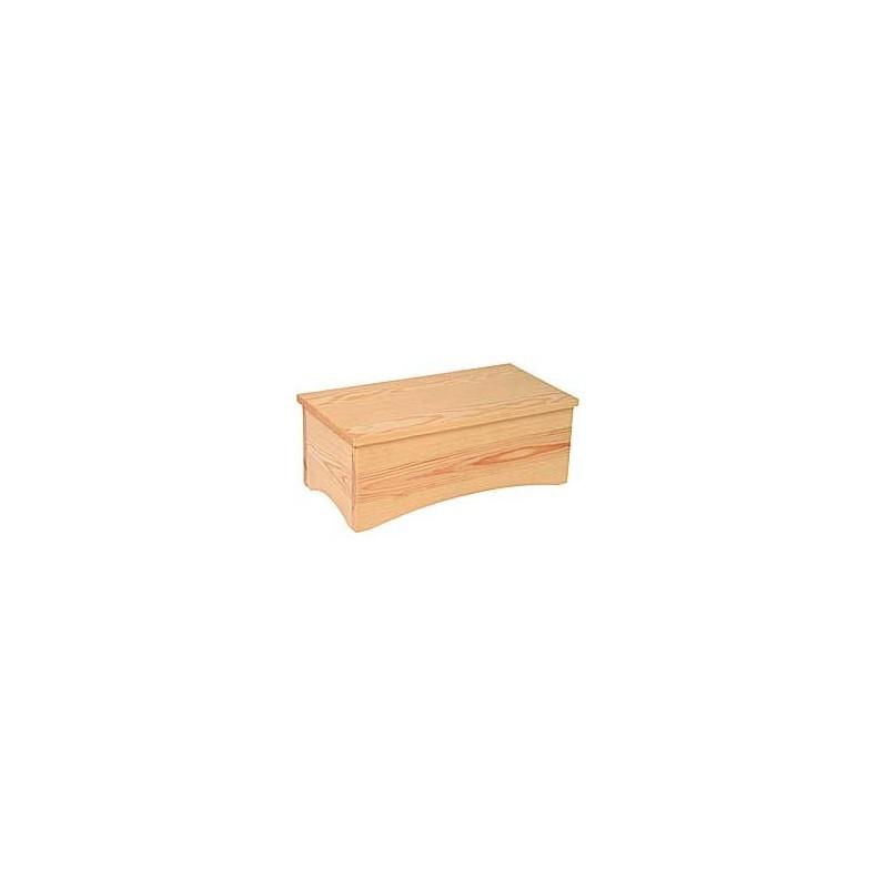Banquillo madera 1 peldaño de acceso a pacientes LV17040