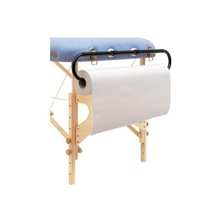 Portarrollos para camilla plegables y fijas de madera