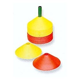 48 conos flexibles psicomotricidad PS432505