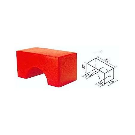 Figura geométrica de foam recubierto psicomotricidad 450015