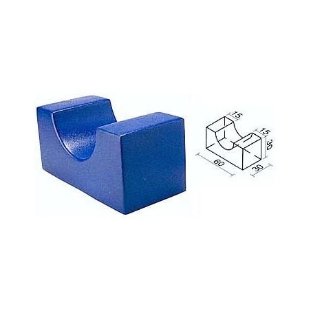 Figura geométrica de foam recubierto psicomotricidad 450023