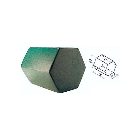 Figura geométrica de foam recubierto psicomotricidad 450033