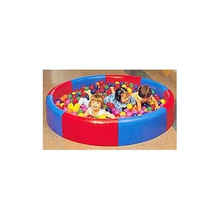 Piscina sensorial de educación infantil REDONDA Alto 30 cm