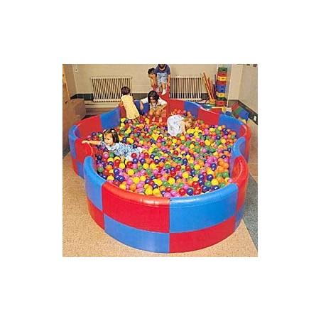 Piscina sensorial de educación infantil forma de OCHO Alto 30 cm