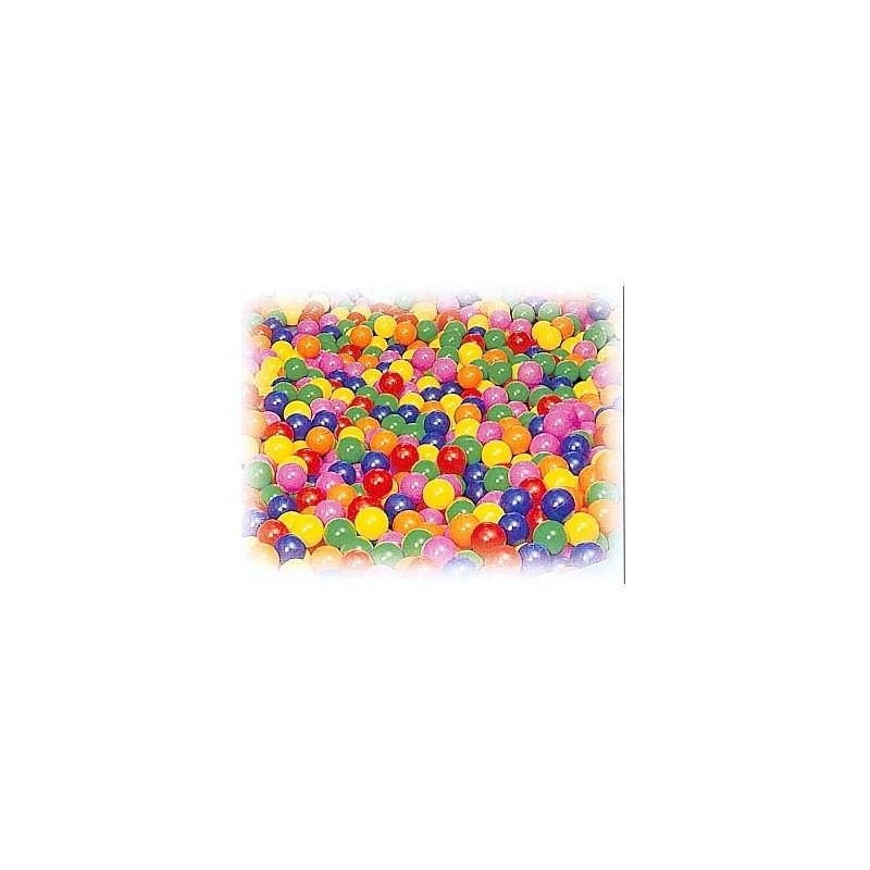 500 pelotas llenado piscina sensorial 1 color 85 mm