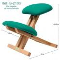 Silla ergonómica sin respaldo Ecopostural S2106