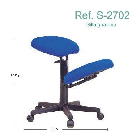 Silla ergonómica Ecopostural S2702