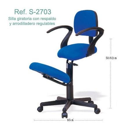 Silla ergonómica Ecopostural S2703
