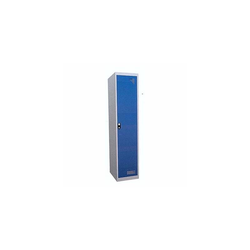 Taquilla metálica para vestuario doble 1 altura 1 hueco 40x50x180cm