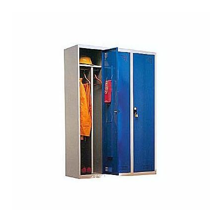 Taquilla metálica para vestuario doble 1 altura 3 huecos 40x50x180cm10
