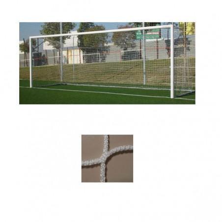 Redes porterías fútbol 11 cajón polipropileno de 3mm malla 120mm