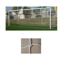 Redes porterías fútbol 7 cajón polietileno de 3mm malla 140mm