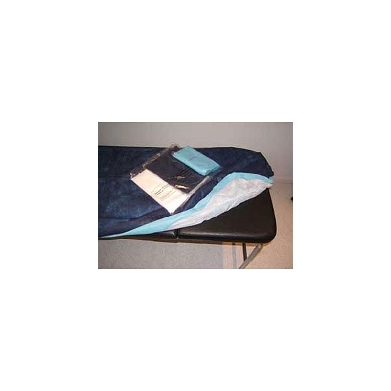 100 sábanas de 95x220 cm ajustables y desechables para camillas