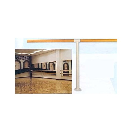 Sujeción suelo graduable barra ballet diametro 45mm