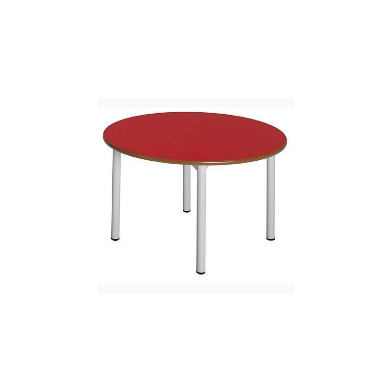 Mesa escritorio escolar circular 19C