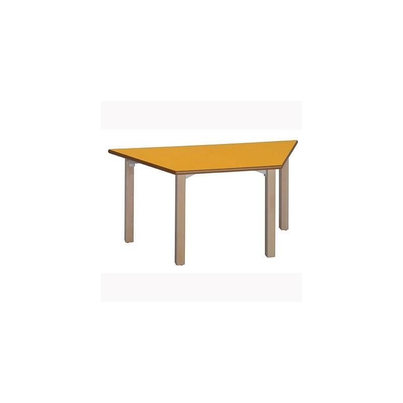 Mesa escritorio escolar trapezoidal 20T