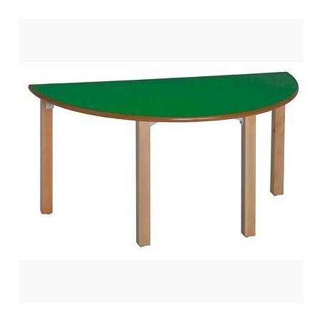 Mesa escritorio escolar semicircular 20SC