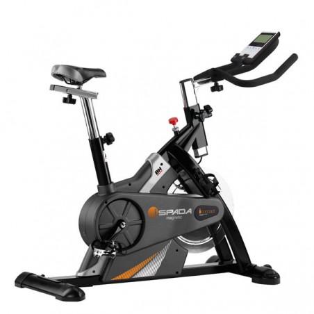 Bicicleta spinning uso doméstico intensivo BH Fitness H932 i.Spada