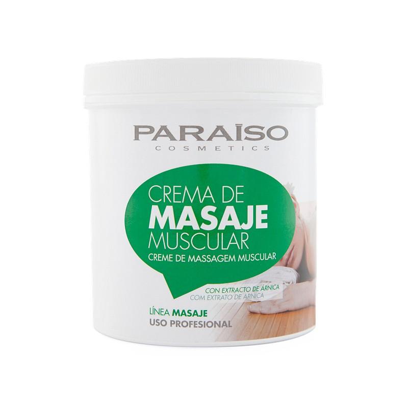 Crema masaje muscular calmante profesional 500 ml