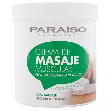 Crema masaje calmante muscular profesional 500 ml