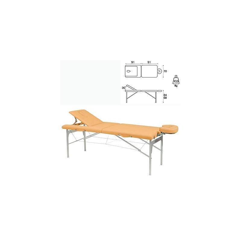 Camilla plegable aluminio masaje y terapia Ecopostural C3410