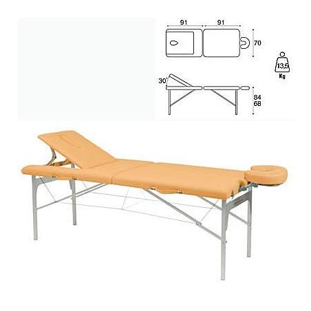 Camilla plegable aluminio masaje y terapia Ecopostural C3410M61