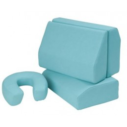 Cojines masaje juego de 4 piezas