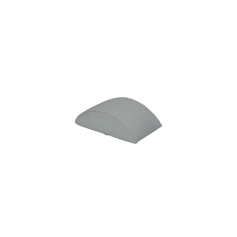 Cojín semi-cilíndrico pequeño 25 x 14 x 9 cm.
