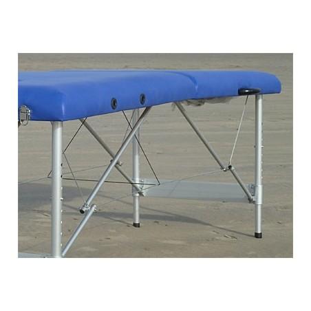 Camilla plegable aluminio masaje y terapia Kitres AT003 lateral