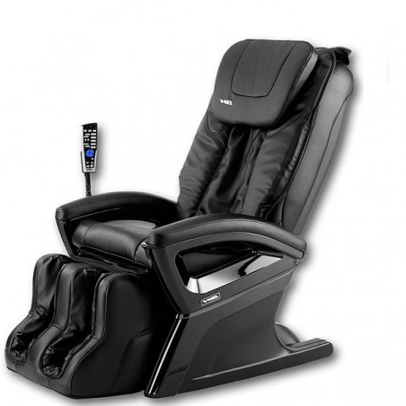 Vista lateral del sillón centro de masaje relax BH Shiatsu M400 Prince