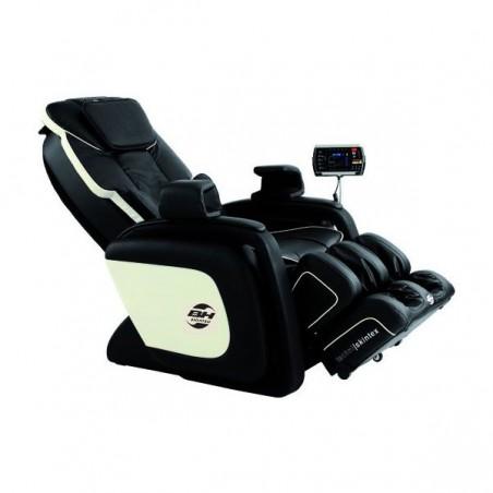 Posición inclinada del sillón centro de masaje relax BH Shiatsu M650 Venice