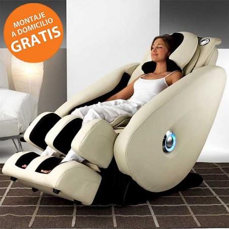 Sillón centro de masaje relax BH Shiatsu M1200C Scala