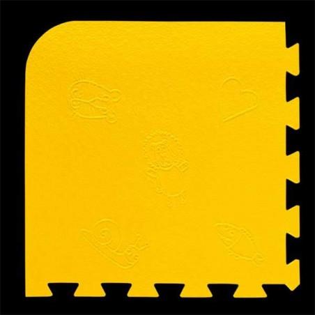 Loseta pack de 9 losetas de 55x55x1,5 cm para área de juegos infantiles Piolin