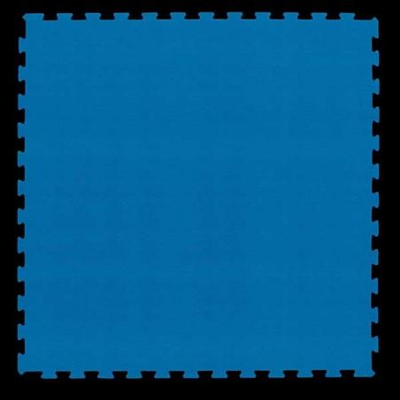 Pavimento suelo para zona de juegos infantiles, guardería psicomotricidad 100x100x2 cm Azul