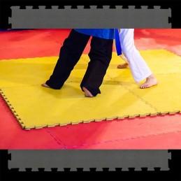 Loseta suelo tatami artes marciales 100x100x2-3 cm