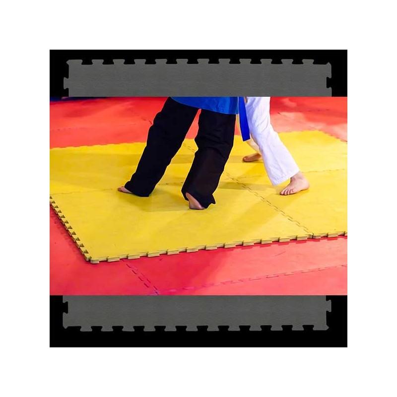 Pavimento suelo o tatami para artes marciales 100x100x2 ó 3 cm