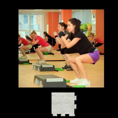 Esquina suelo gimnasio aerobic 12x12x1 cm