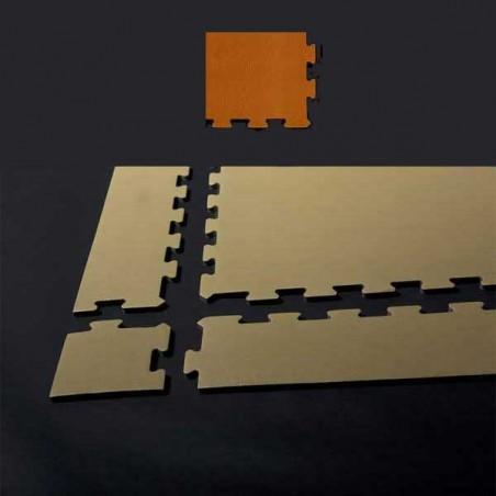 Esquina en forma de cuña, para remate de pavimento o suelo gimnasio aerobic piezas de  15X15X1 cm Ibiza