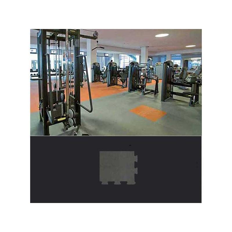 Esquina de remate para suelo gimnasio fitness 15x15x1,5 cm