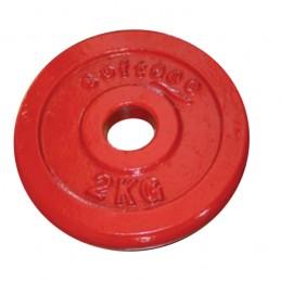 Disco hierro fundido alzamiento levantamiento pesas 30 mm de diámetro