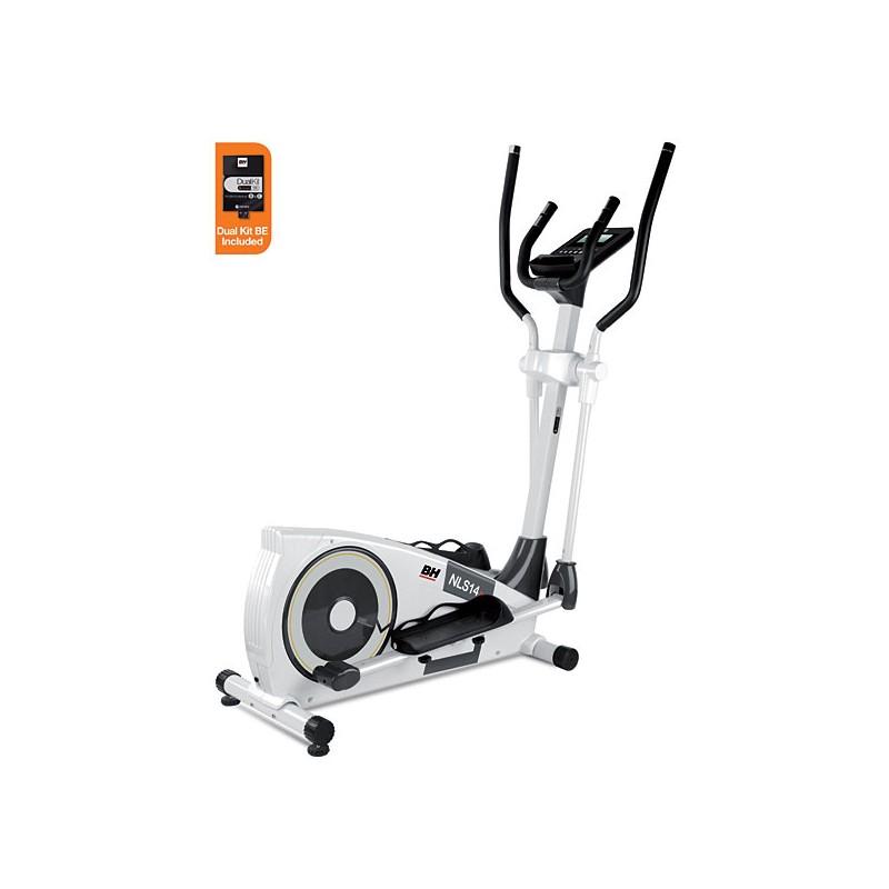Bicicleta elíptica uso doméstico BH NLS14 Dual con Dual Kit WG2352U