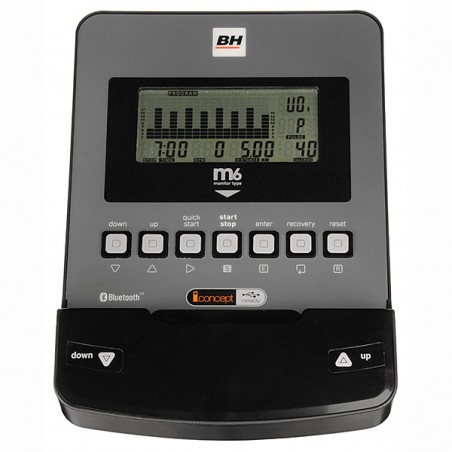 Monitor de serie bicicleta estática BH i.Concept Carbon Bike Dual Kit opcional H8705U