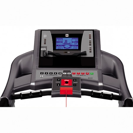 Monitor de serie de la cinta de correr uso regular Bh F2 i.Concept con Dual Kit WG6416U