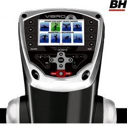 Plataforma vibratoria semiprofesional BH Vibro GS SE triplano YV20RS