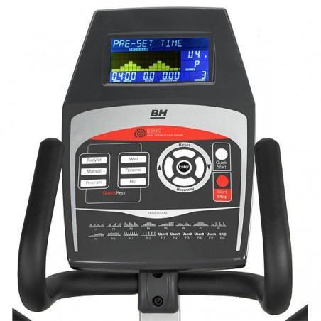Monitor de la bicicleta elíptica BH NLS18 Program con volante de inercia de 16 Kg G2382