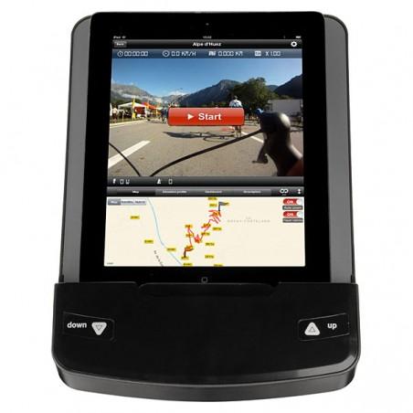 Bicicleta elíptica BH i.Concept TFC19 Dual Plus con Dual Kit WG856 con monitor tablet