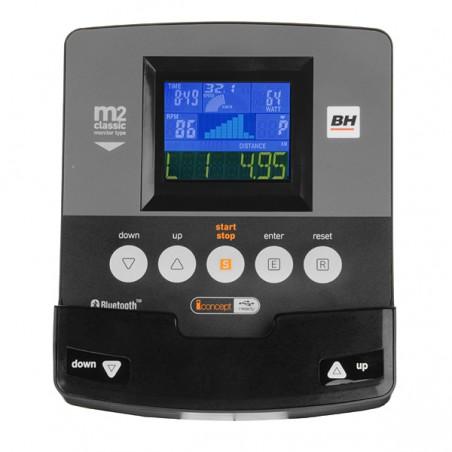 Monitor de serie de la bicicleta estática BH i.Concept ARTIC Dual Kit opcional H674U